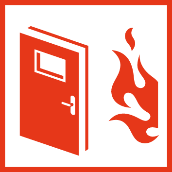 Passive fire protection Icon